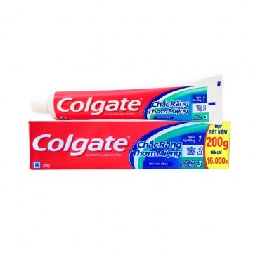 【Colgate 高露潔】三效合一牙膏(200g*12)