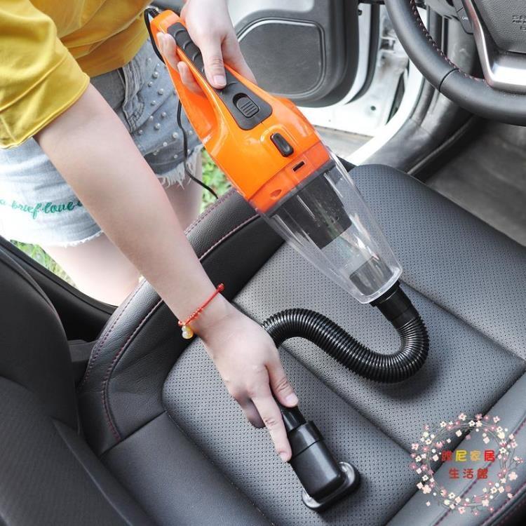 車載吸塵器汽車吸塵器強力 車內超強吸力大功率干濕兩用 12V車用【維尼】
