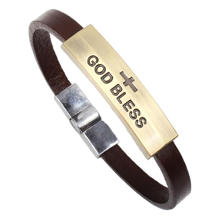 手鐲 手環宗 教飾品 上帝保佑