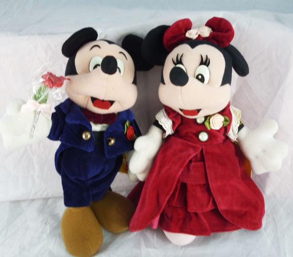 震撼精品百貨Micky Mouse米奇米妮~娃娃-西裝米奇共1款