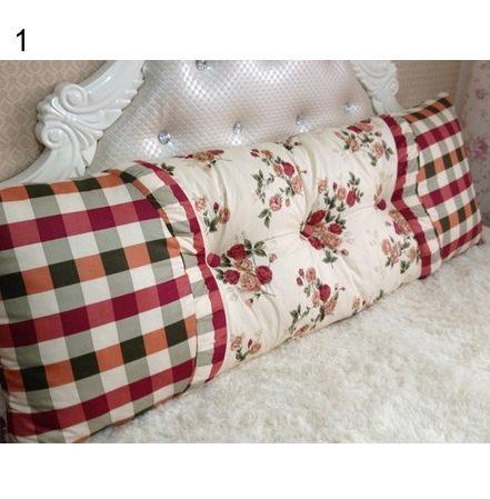 靠枕 靠墊抱枕 大號 床頭靠墊 軟包 靠背墊 床靠背-dac003