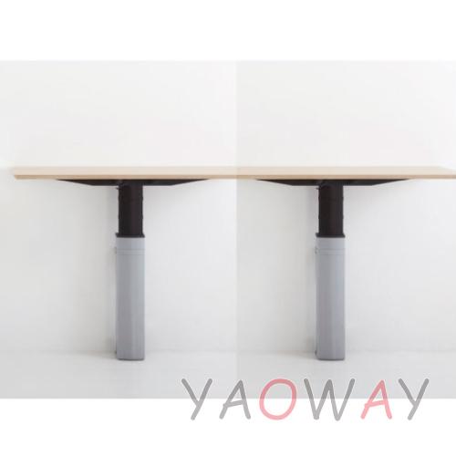 耀偉丹麥Conset-電動升降桌501-23WS2壁掛式工作桌辦公桌電腦桌主管桌會議桌