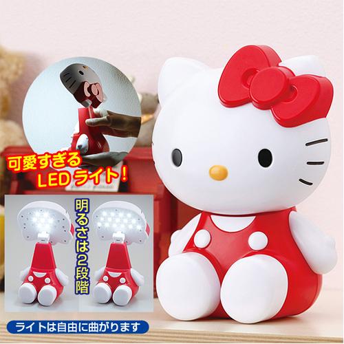 日本正版授權三麗鷗Hello Kitty LED造型檯燈造型LED燈擺飾公仔731459