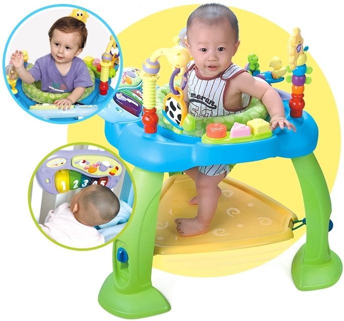 粉粉寶貝玩具*匯樂寶寶多功能遊戲彈跳椅-寶寶跳跳椅~360度旋轉~多功能遊戲音樂跳跳椅
