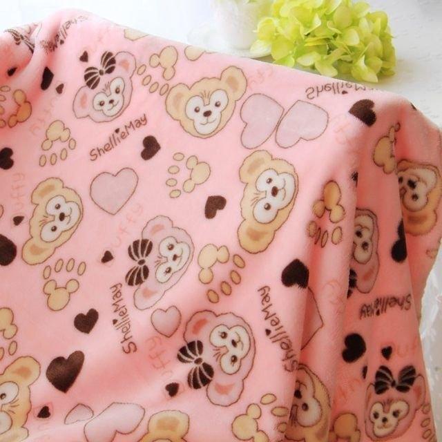 發現好貨可愛達菲熊毯子duffy雪莉玫shelliemay卡通空調毯午睡毯100*100公分