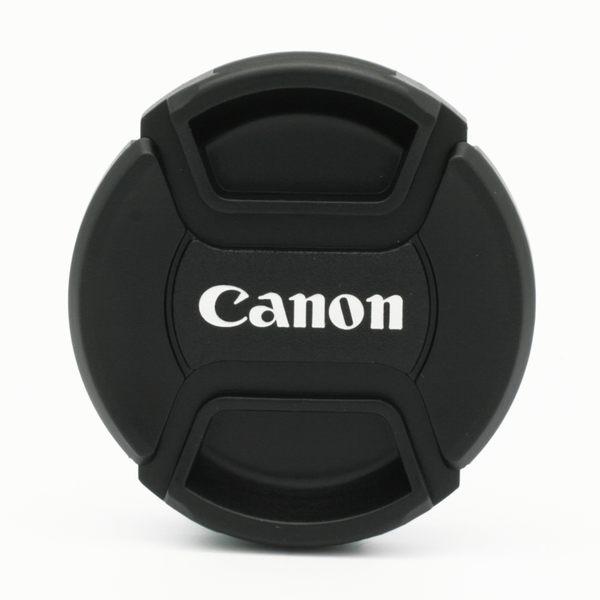 我愛買#Canon鏡頭蓋A款附繩E-58鏡頭蓋58mm鏡頭蓋適18-55mm f3.5-5.6 IS STM II 55-250mm f4-5.6 55-200mm F4.5-5.6 USM
