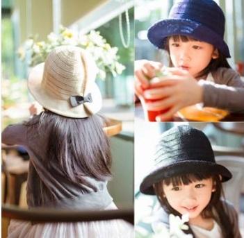 預購-童帽寶寶太陽帽兒童漁夫草帽遮陽帽