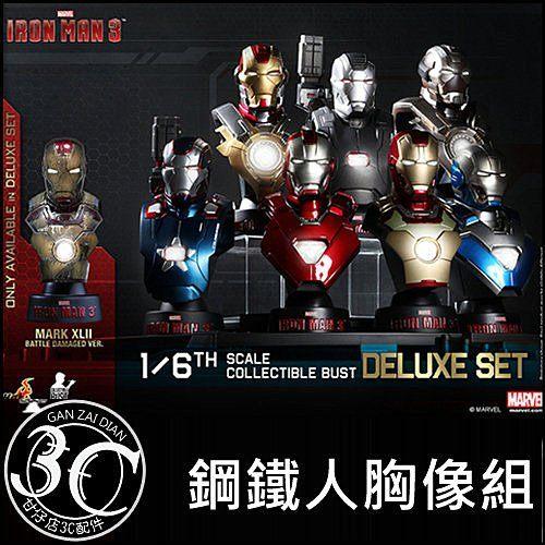 MARVEL授權HOT TOYS鋼鐵人Iron Man3鋼鐵人3 1 6比例胸像組野獸國馬克42現貨甘仔店3C配件