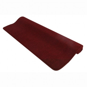 華爾街素面地毯105x156紅
