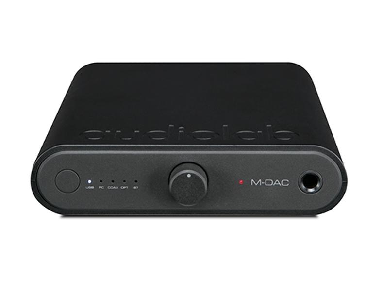 《名展影音》 限時結帳折與贈光纖線材~ 英國 Audiolab  M-DAC mini 可攜帶型DAC耳擴 加贈7-11禮券