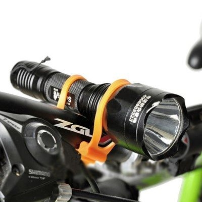 自行車專用加厚款綁帶顏色隨機不挑色萬能綁帶矽膠綁帶自行車紮帶固定架AE10141-2