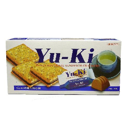 Yu-Ki夾心餅-巧克力口味150g愛買