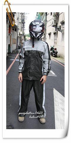 ARAI雨衣,K2,黑灰