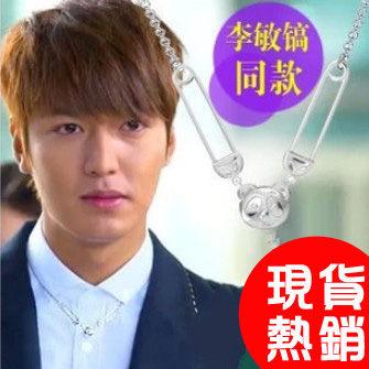 劇熱賣李敏鎬李民浩 繼承者們同款男士熊貓吊墜項鏈【B4091】
