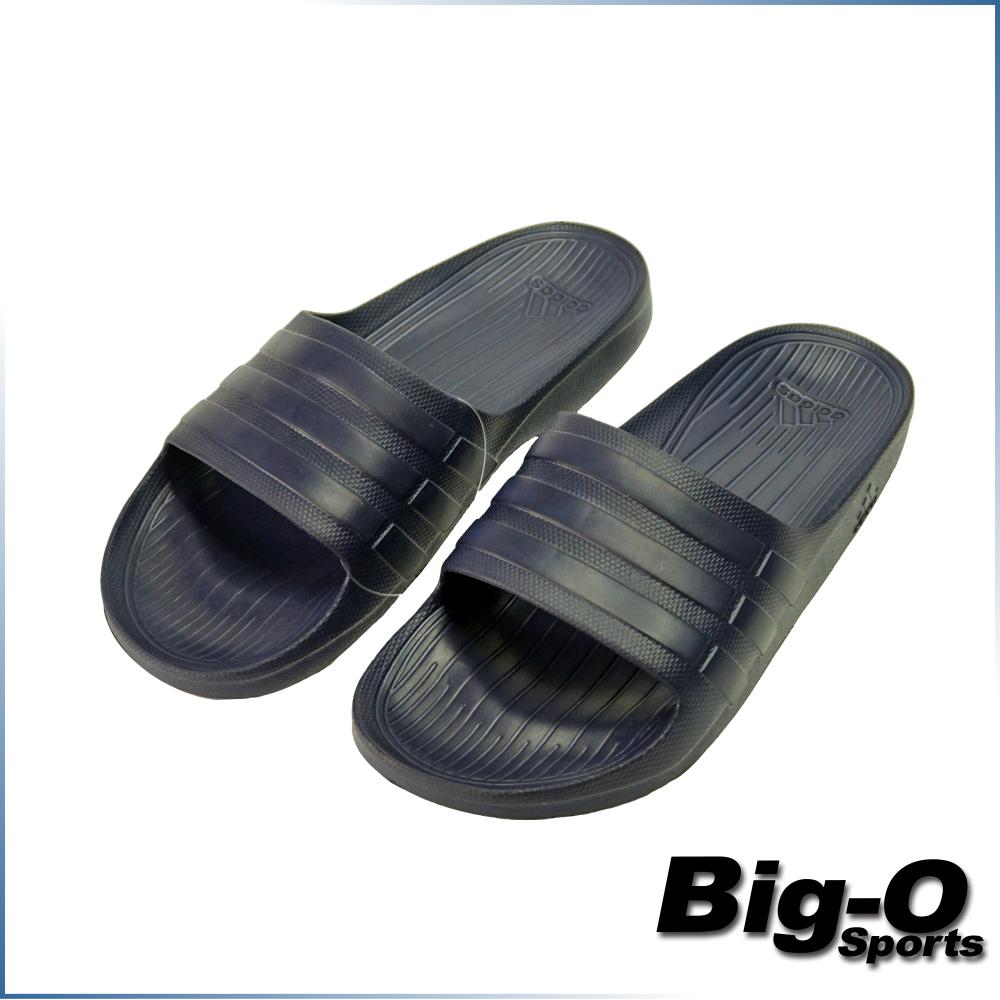 下雨我不怕ADIDAS愛迪達DURAMO SLIDE運動拖鞋休閒拖鞋男女共用BB0498