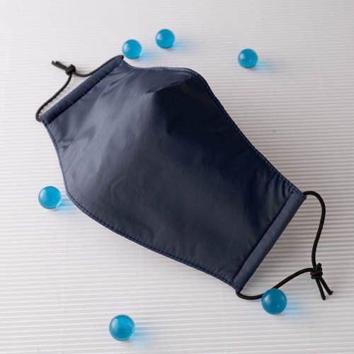 【雨晴牌-超防鏡霧抗UV防水專利口罩】(夾層型) 成人-深藍色 專利設計 排霧透氣 99%防霧 外層防水