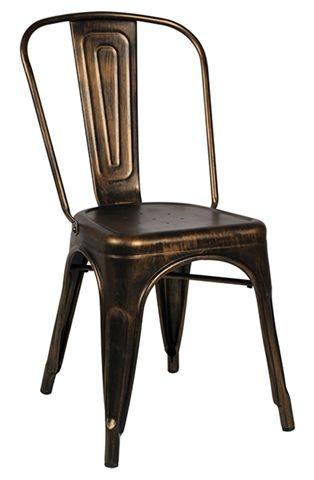 南洋風休閒傢俱設計單椅系列-曼尼鐵椅烤漆靠背椅鐵製餐椅洽談椅休閒餐椅1002