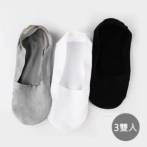 冰絲超薄隱形防滑船襪x3雙