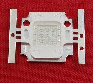 diy led燈珠 批發館10入起定每入280 10W led綠光 LED/ 高亮度 10W 綠光/ 10W 方形 LED