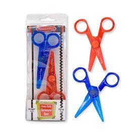 【佳兒園婦幼館】美國瑪莉莎 Melissa & Doug 兒童專用安全剪刀組合包(直線 鋸齒)