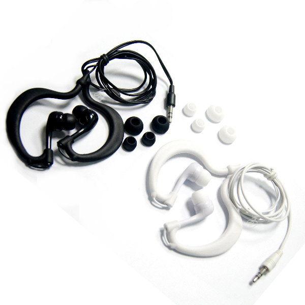 耳掛式防水耳機IPX8可下水3.5mm游泳浮淺路跑運動騎車不怕下雨手機MP3 MP4 MP5平板皆可使用