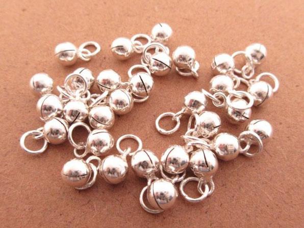 ☆§海洋盒子§☆ 有聲音的~小鈴鐺純銀單墜飾《925純銀》一顆60元