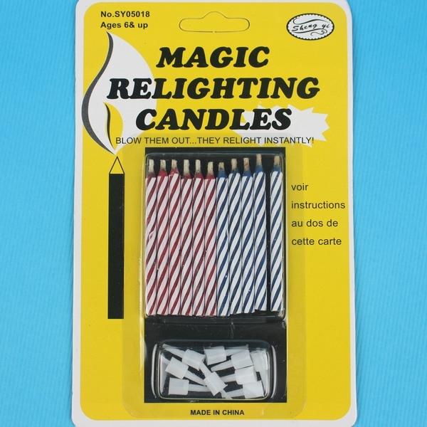 吹不滅蠟燭吹不熄蠟燭惡作劇蠟燭一小卡10支入定20整人蠟燭真的吹不熄蠟燭YF2490