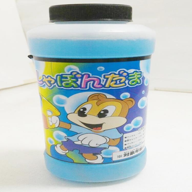 塔克彩虹泡泡水小泡泡液補充瓶350ML安全無毒音樂連續電動泡泡槍泡泡機