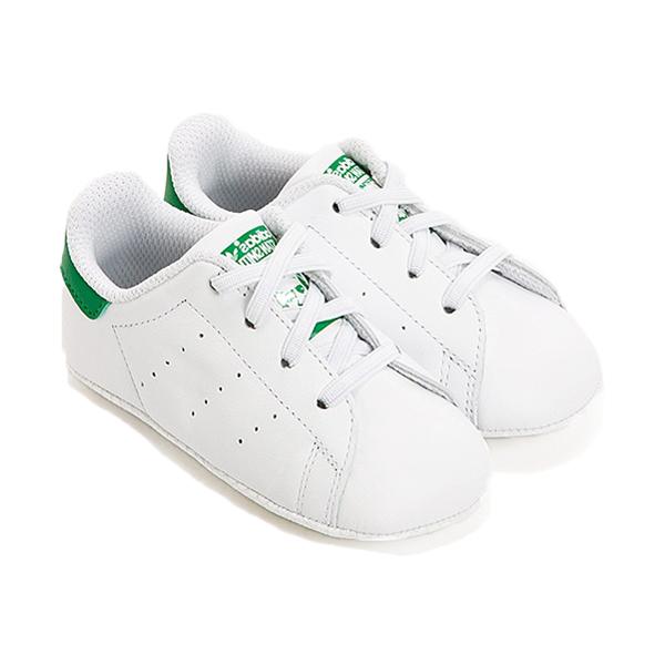 adidas休閒鞋Stan Smith Kids Infants白綠魔鬼氈幼童小童鞋GT Company B24101