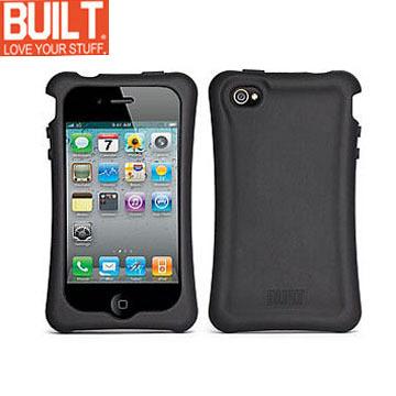 A Shop BUILT NY IPhone 4 Erogonomic Soft Case矽膠保護套A-PH4S-BLK黑色