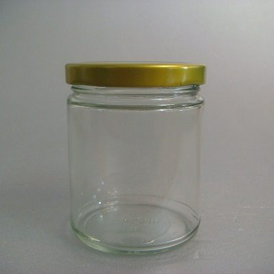 金蓋瓶(圓柱型-250ml)/玻璃瓶/儲物罐/收納罐/糖果罐/保鮮罐