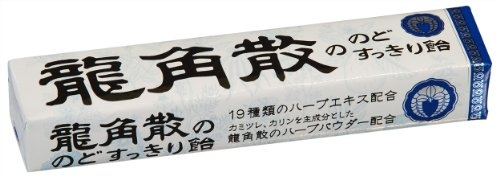 日本龍角散條糖10粒條40g