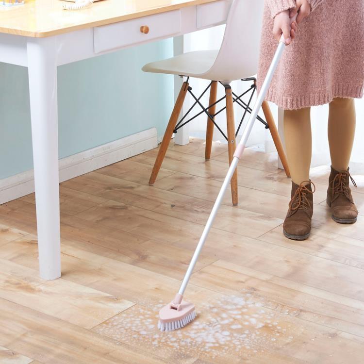 [超豐國際]伸縮長柄刷地刷子地板刷硬毛地刷浴室衛生間瓷磚浴缸清潔刷