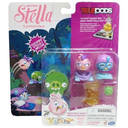 【孩之寶流行玩具】憤怒鳥 - 粉紅史黛拉好友角色多入組  Sleepover A9207