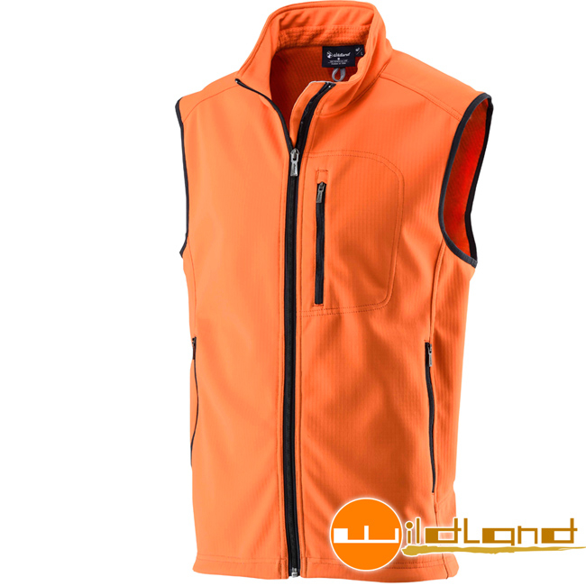 Wildland 荒野 0A22701-84橘色 中性 防潑水防風保暖背心