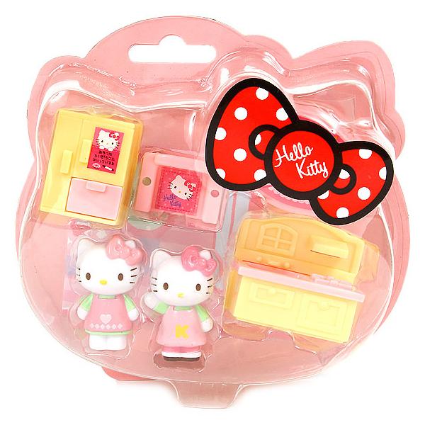 Hello Kitty玩具 兒童扮家家酒玩具迷你房-廚房/家家酒/兒童教育玩具 [喜愛屋]
