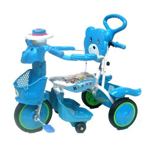 MIT精選童車三輪車系列大象音樂手控三輪車8029A
