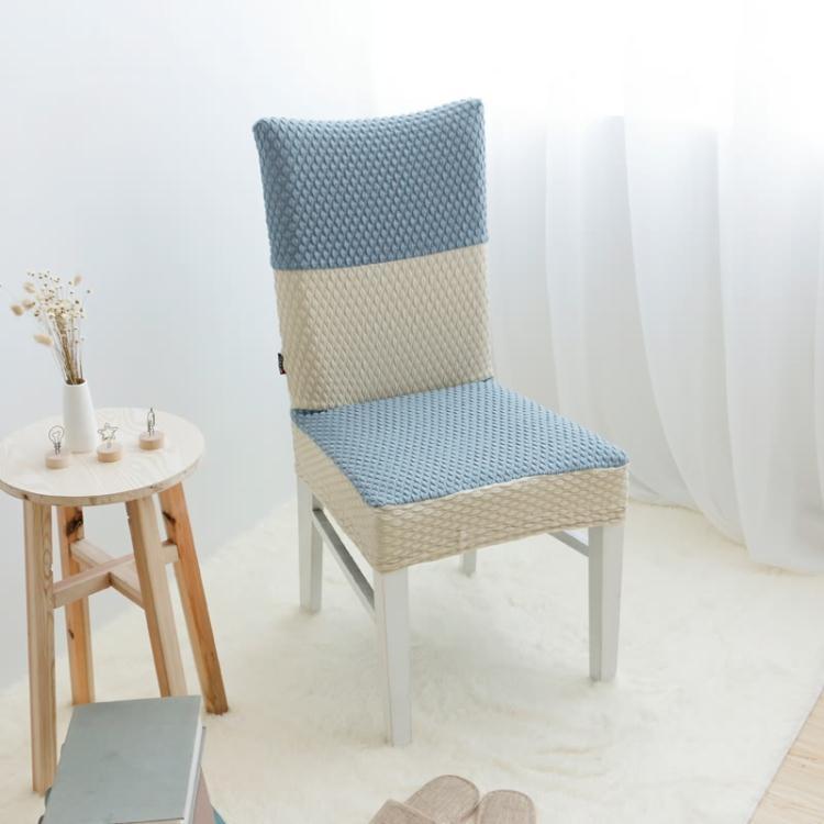 椅套 定制彈力椅套連體辦公椅子套簡約餐椅套凳子套椅背套飯店酒店椅套【米拉公主】