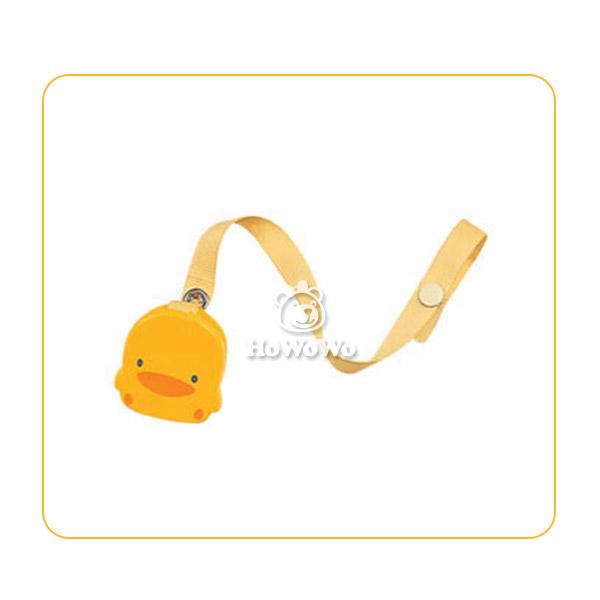 黃色小鴨造型奶嘴鍊 83038 好娃娃