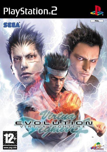 ★199元起含運★ VR快打4 Evolution - PS2英文版