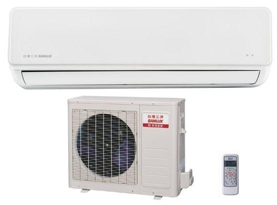 台灣三洋 SANLUX 時尚型 單冷 直流變頻 一對一分離式冷氣 SAC-V50F / SAE-V50F
