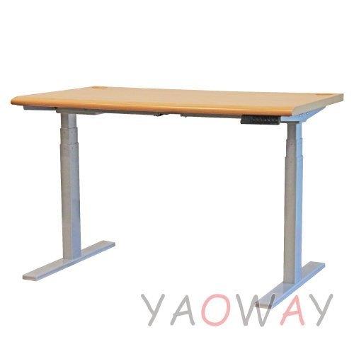 耀偉國產四段記憶180x70桌面智慧型電動升降桌電腦桌書桌工作桌會議桌