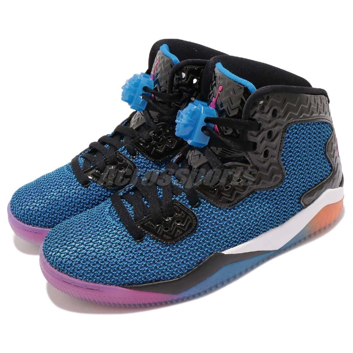Nike籃球鞋Air Jordan Spike Forty AJ LEE喬丹飛人藍黑男鞋PUMP306 819952-029