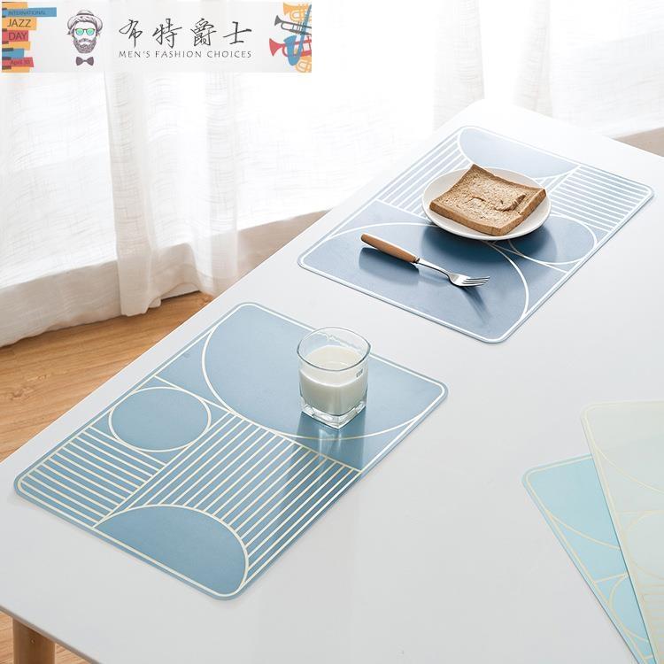 餐墊創意歐式西餐墊防水餐桌墊防燙隔熱墊家用大號長方形餐墊盤墊碗墊八折鉅惠TW