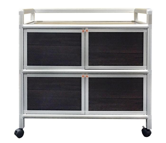 多功能組合櫃 三層四門收納架 三尺櫃  3尺櫃 收納盒 置物架 收納架 收納櫃 置物櫃 鋁櫃 DIY