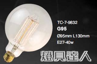 LOFT光源系列9832家庭咖啡廳居家裝飾LED工業風重點照明餐桌燈具達人