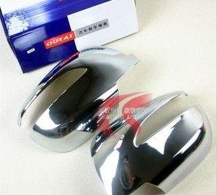 車王小舖現代ix35後視鏡蓋ix35倒車鏡蓋ix35後視鏡罩現代家族