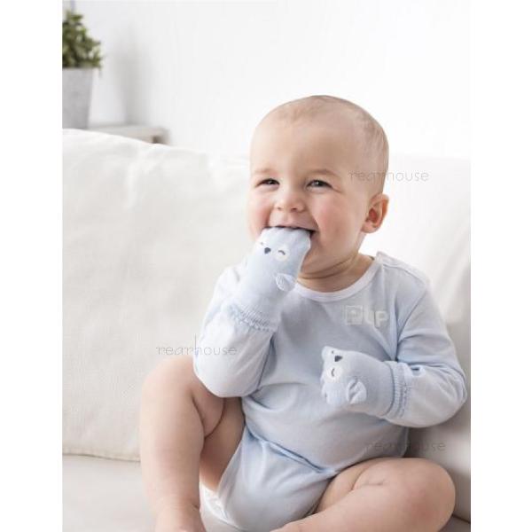奇哥立體造型嬰兒手套趾無痕小企鵝小兔子小海獅