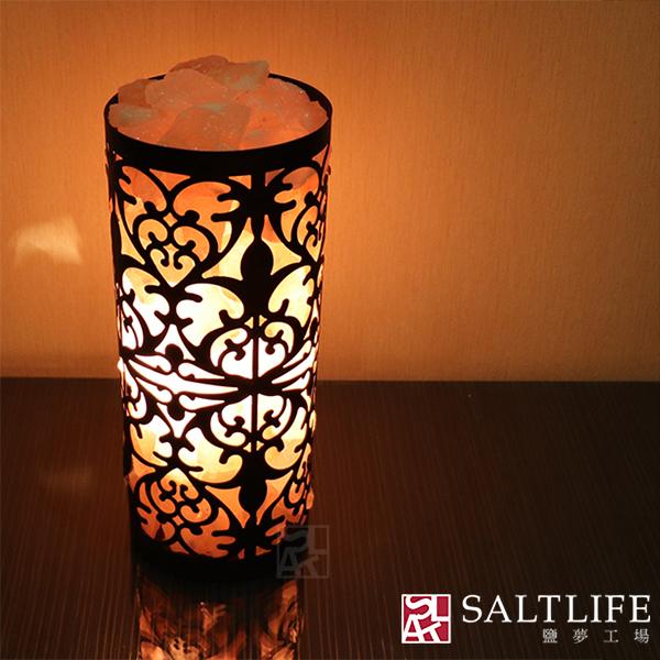 【鹽夢工場】創意造型鹽燈-萬花筒