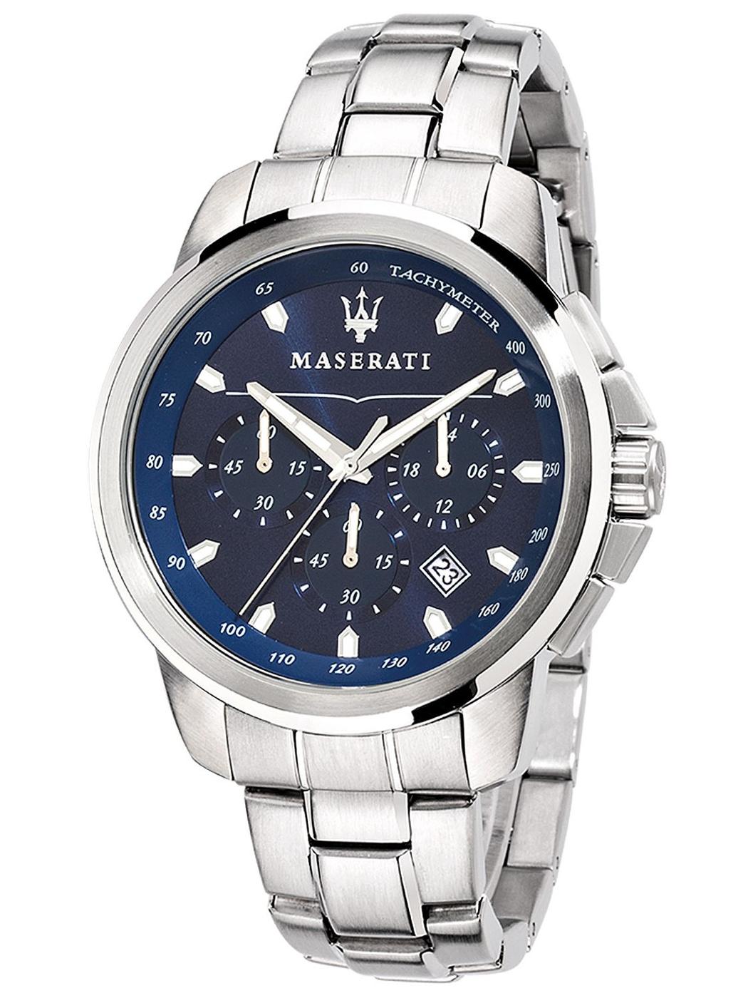 MASERATI WATCH-瑪莎拉蒂手錶-三眼炫銀深藍款-R8873621002-錶現精品公司-原廠正貨-鏡面保固一年